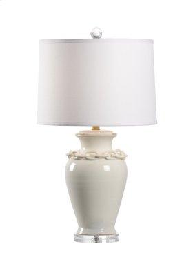 Battelli Lamp - Antique White