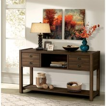 Perspectives - Console Table - Brushed Acacia Finish
