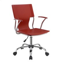 Contemporary Red Office Chair