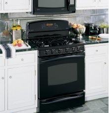 "GE Profile 30"" Free-Standing Dual-Fuel Double Oven Range"