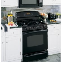 "GE Profile 30"" Free-Standing Dual-Fuel Double Oven Range"
