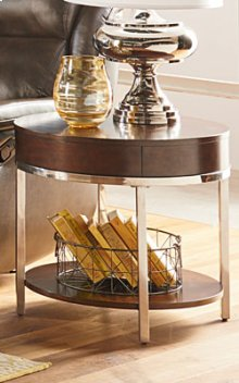 HOT BUY CLEARANCE!!! Mira Round End Table