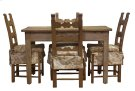 Ars Pine Breakfast Table And Chairs Set Product Image