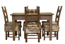 Ars Pine Breakfast Table And Chairs, Set