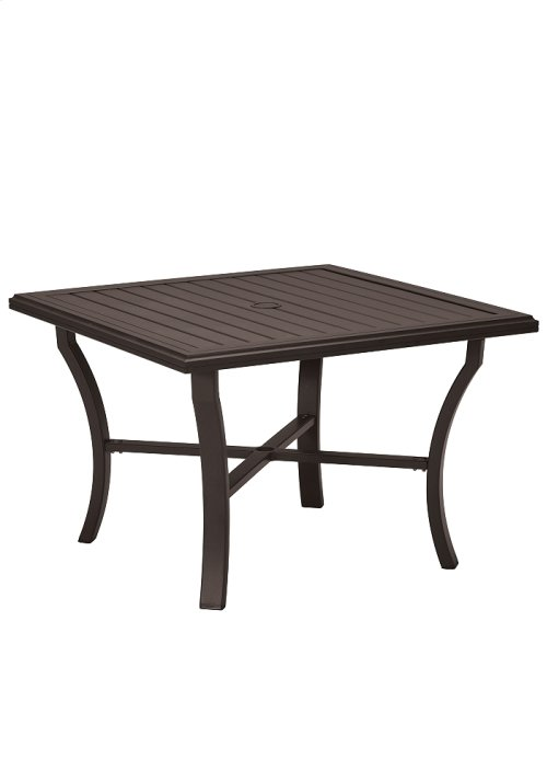 "Banchetto 42"" Square Dining Umbrella Table"