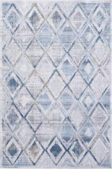 Mosaic Grey/cream/blue 1666 Rug