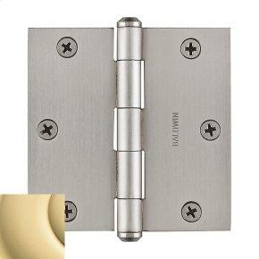 Polished Brass BR7025 Square Hinge