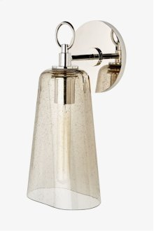 Arundel Wall Mounted Single Arm Sconce with Glass Shade STYLE: AULT01