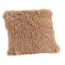 Lamb Fur Pillow Large Natural