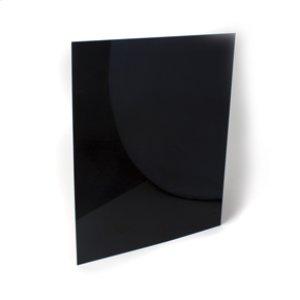 """Amana30"""" Reversible Range Backsplash - Black/White"""