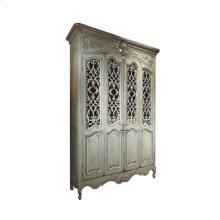 Louis XV Bibliothèque with Metal Grilles