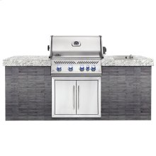 BUILT-IN PRESTIGE PRO 500 WITH INFRARED REAR BURNER - Natural Gas