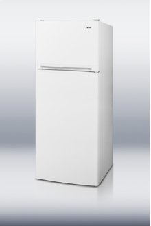 "Large capacity frost-free refrigerator-freezer in slim 24"" width"