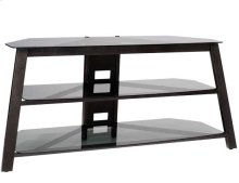 """Audio Video Stand Three shelf stand - fits AV components and TVs up to 60"""""""