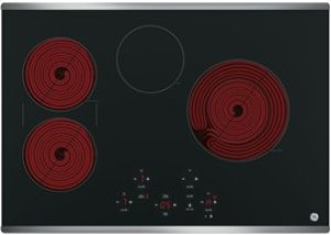 """30"""" Built-In Touch Control Electric Cooktop"""