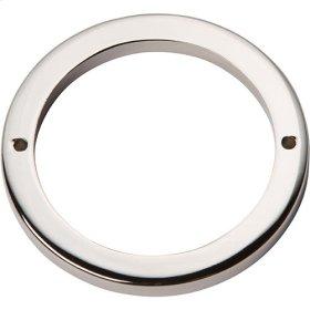 Tableau Round Base 3 Inch - Polished Nickel