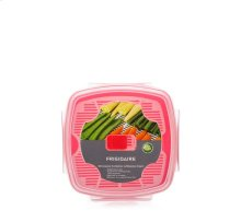 1.3L Microwave Container with Steamer Insert