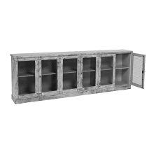 6 Door Sideboard Frame W/Porcelain Top