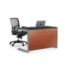 Compact Desk Back Panel 6008 in Cherry