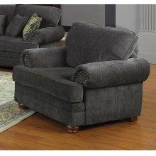 Colton Traditional Smokey Grey Chair