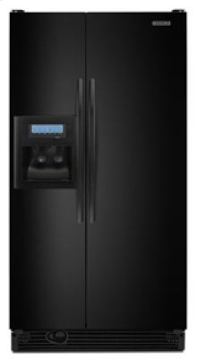 """23.1 cu. ft. 35 5/8"""" Width Counter-Depth Side-by-Side Dispensing Freestanding Refrigerator Flat, Smooth Doors Architect® Series II"""
