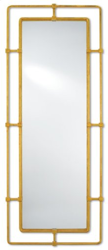 Metro Gold Large Mirror - 60h x 24w x 1.5d