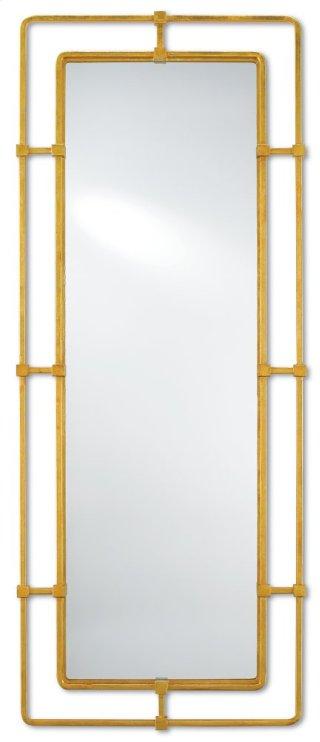 Metro Gold Large Mirror - 60h x 24w x 1.5d
