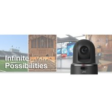 ROBOTIC PTZ NETWORK VIDEO PRODUCTION CAMERA (BLACK)