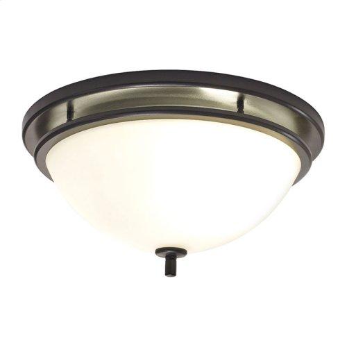 InVent Series Single-Speed 70 CFM, 2.0 Sones Decorative Fan Light in Oil-Rubbed Bronze Finish