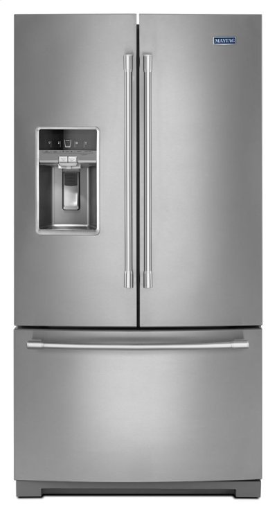36- Inch Wide French Door Refrigerator with Dual Cool® Evaporators - 27 Cu. Ft. Product Image