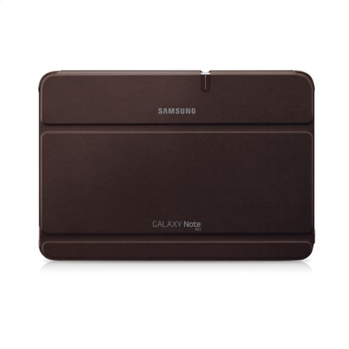 Galaxy Note 10.1 Magnetic Book Cover, Brown