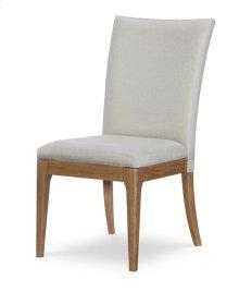 Upholstered Back Side Chair