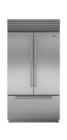 """42"""" Built-In French Door Refrigerator/Freezer with Internal Dispenser"""