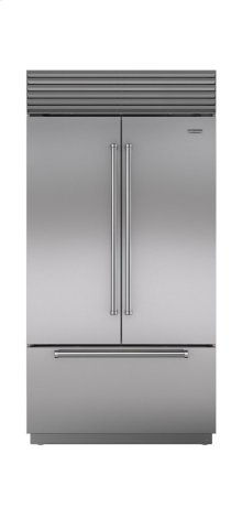 "42"" Built-In French Door Refrigerator/Freezer with Internal Dispenser"