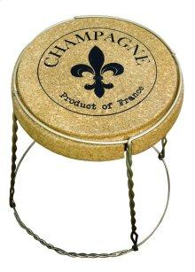 Champagne Cork Table - Metal