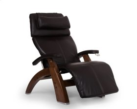 Perfect Chair PC-420 Classic Manual Plus - Espresso Premium Leather - Walnut