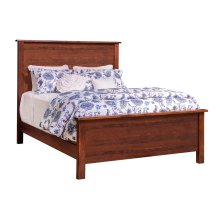Durango Queen Flat Panel Bed