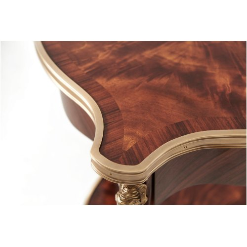 Louis Xv's Caryatids Side Table - Medium Sheen