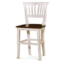 Manchester Counter Stool w/ Wooden Seat