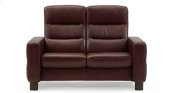 Stressless Wave Highback Medium Loveseat