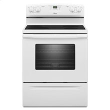 Amana® 30-inch Amana® Electric Range with Easy Touch Electronic Controls - White