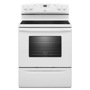 AmanaAmana(R) 30-inch Amana(R) Electric Range with Easy Touch Electronic Controls - White