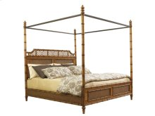 California King West Indies Bed