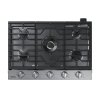 "Samsung 30"" Gas Cooktop With 22k Btu Dual Power Burner In Stainless Steel"
