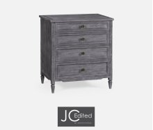 Small Chest of Drawers in Antique Dark Grey