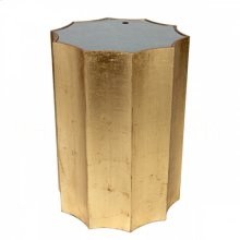 Emmeline Gold Side Table