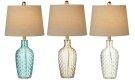 3 pc. ppk. Translucent Basket Weave Accent Lamp. 40W Max. (3 pc. ppk.) Product Image