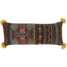 """Leonie LEE-001 12"""" x 30"""" Pillow Shell with Down Insert"""
