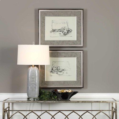 Stowaway Framed Prints, S/2