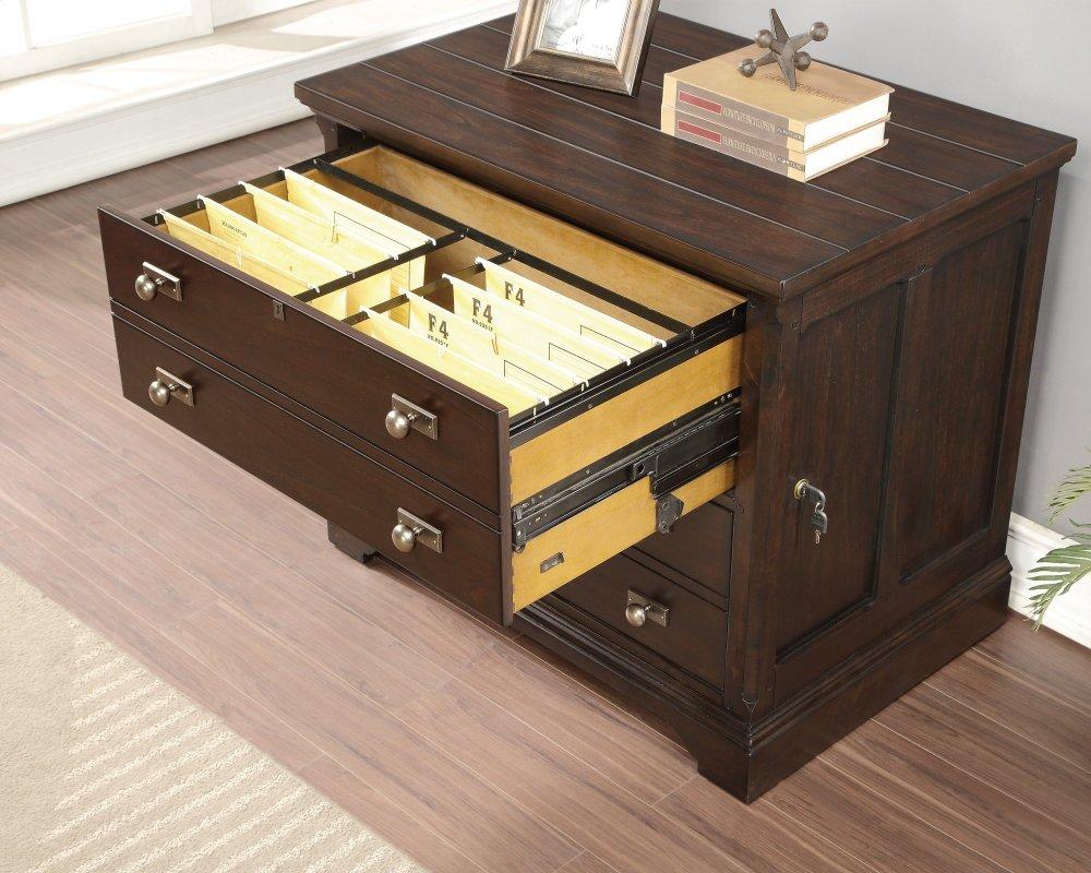 Ordinaire Flexsteel Walnut Creek Lateral File Cabinet